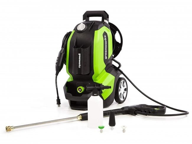 Best Light-Duty Pressure Washer: Greenworks