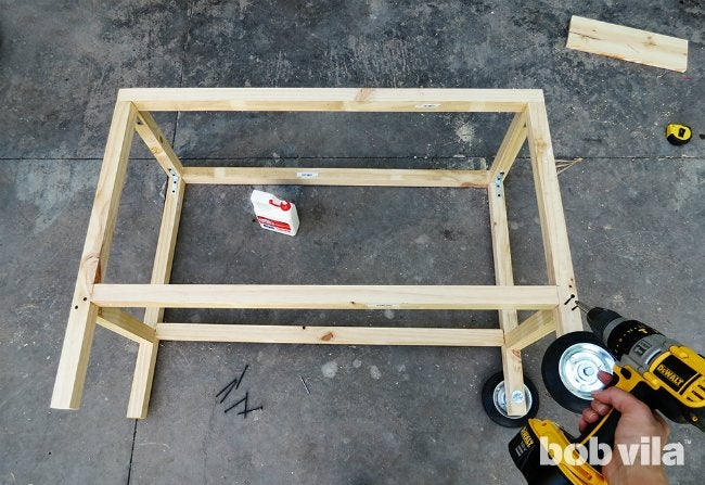 DIY Outdoor Kitchen - Step 10