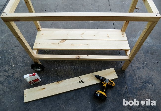 DIY Outdoor Kitchen   Step 11