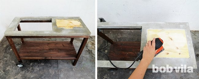 DIY Outdoor Kitchen - Step 14