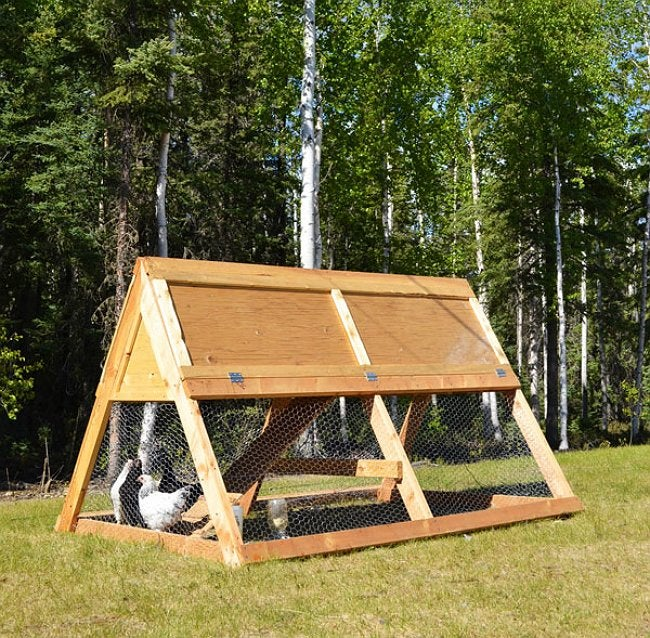 DIY Chicken Coop - Design by Ana White