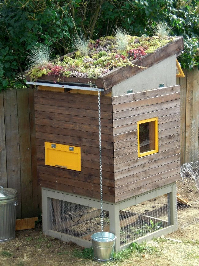 DIY Chicken Coop - Design from Landscape+Urbanism