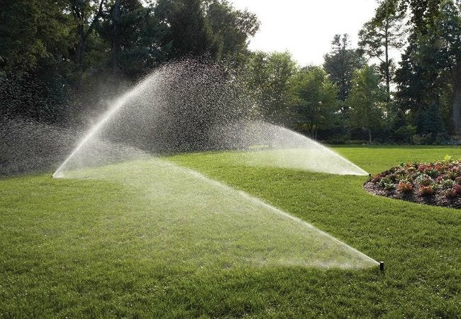 Best Lawn Sprinkler - Rain Bird Easy-to-Install In-Ground Automatic Sprinkler System