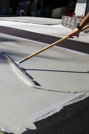 Spalling Concrete - Driveway Resurfacing