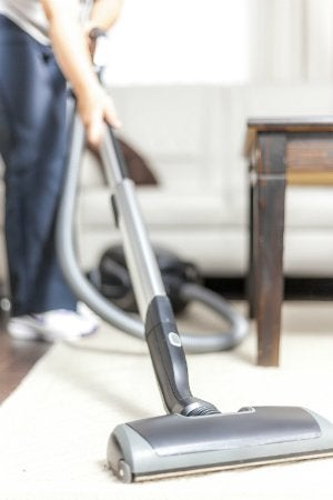 How to Remove Blood from Carpet - Vacuum Dry Stains