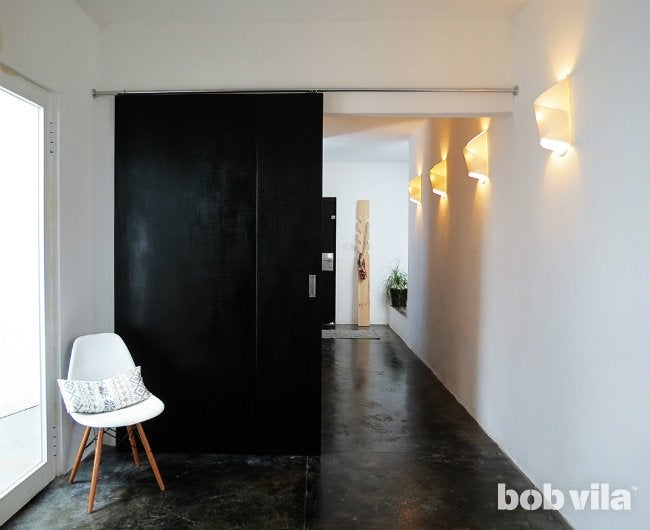 How to Build a Door - Sliding Door from BobVila.com