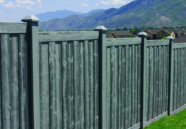Fence Types - Composite