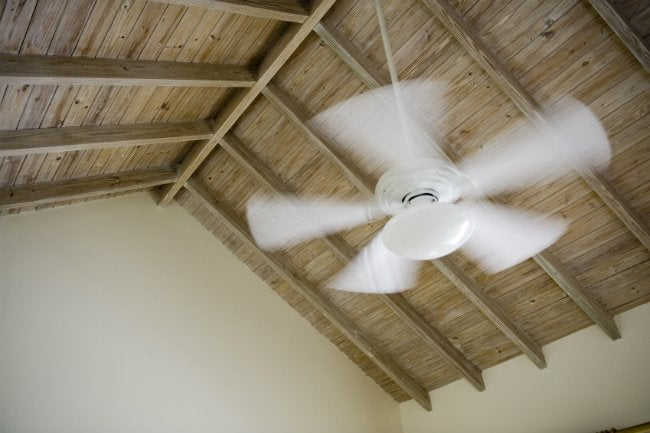 How to balance a ceiling fan bob vila how to balance a ceiling fan mozeypictures Image collections