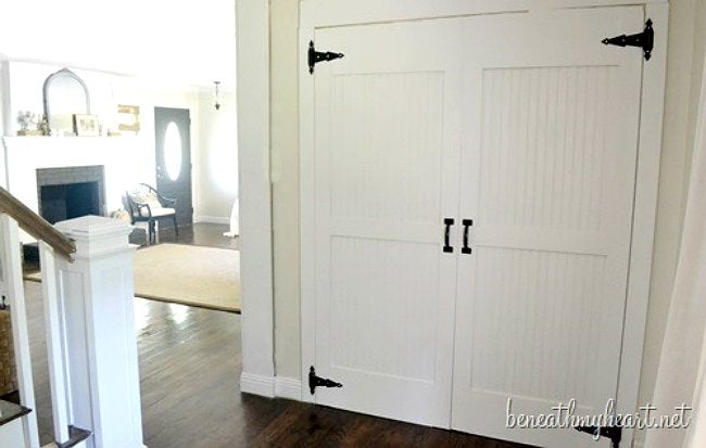 How to Build a Door - Barn Door by Beneath My Heart