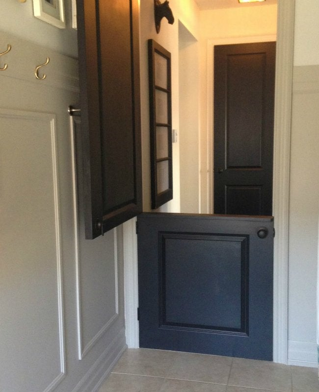 How to Build a Door - Dutch Door from Just Beachy