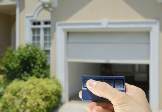 Use WD-40 EZ-REACH to Preserve Garage Door Opener