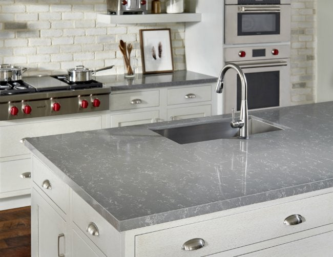Zodiaq Countertop Materials : New Engineered Countertops Fuse Beauty and Brawn for a No-Compromise ...