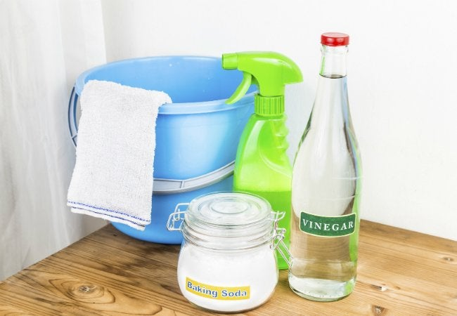 How to Get Rid of Gasoline Smell - Using Baking Soda and Vinegar
