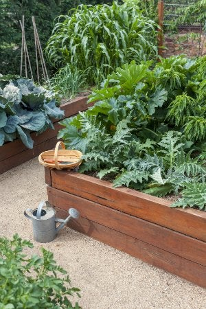 How To Build A Raised Garden Bed   Completed Project