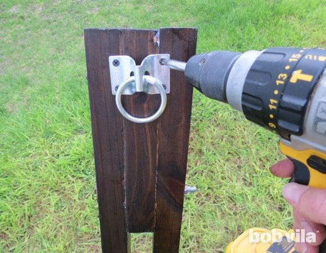DIY Hammock Stand - Step 12