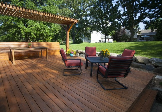 How to build a floating deck bob vila for How do you build a deck yourself