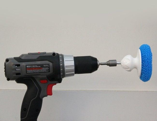 how to clean a bathtub 2. Genius  Homemade Bathtub Cleaner    with a Drill   Bob Vila
