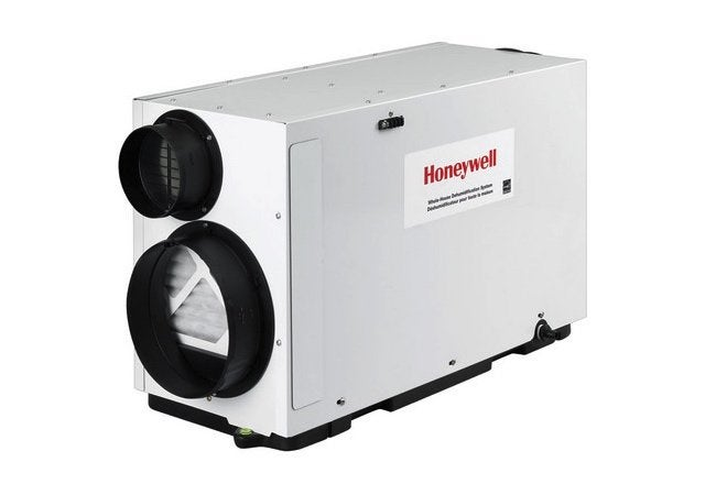 Types of Dehumidifiers - Inline Unit