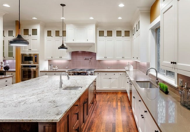 How to clean quartz countertops bob vila for Best way to wash kitchen floor