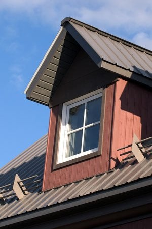 Installing Metal Roofing - Dormer Detail