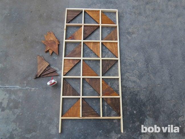 DIY Room Divider - Step 8