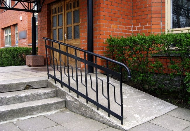 How To Build A Wheelchair Ramp   Out Of Concrete
