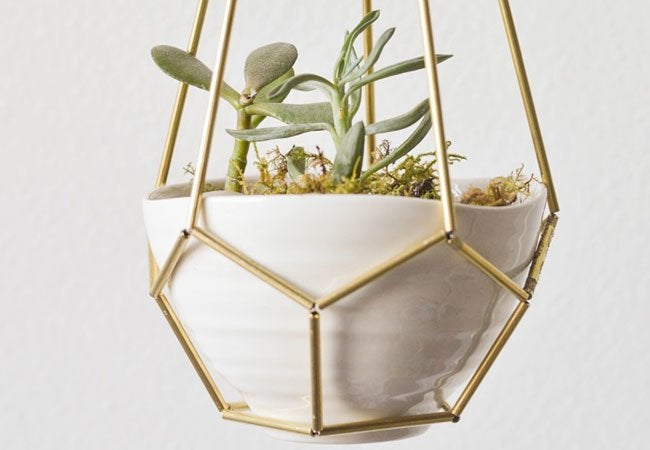 Diy hanging planters 5 easy projects bob vila - Metal hanging planter ...