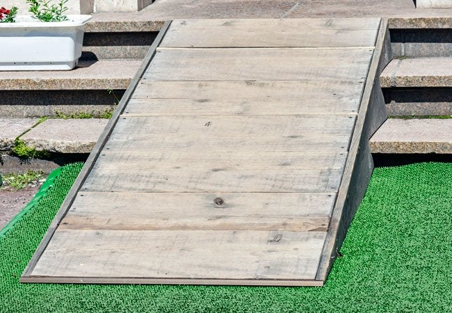 How to Build a Wheelchair Ramp - Out of Wood