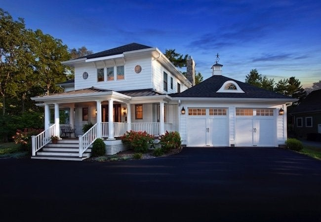 How to Choose a Garage Door - Double Doors