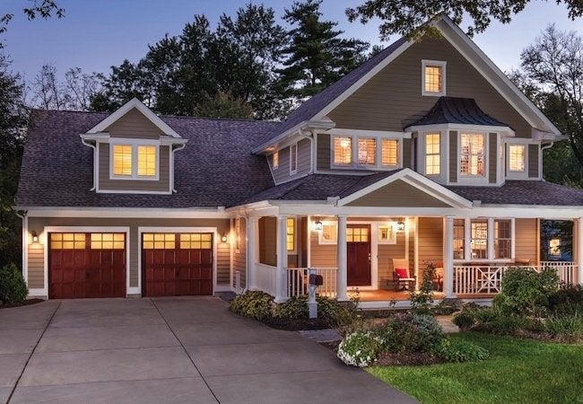 How To Choose A Garage Door Stained Wood