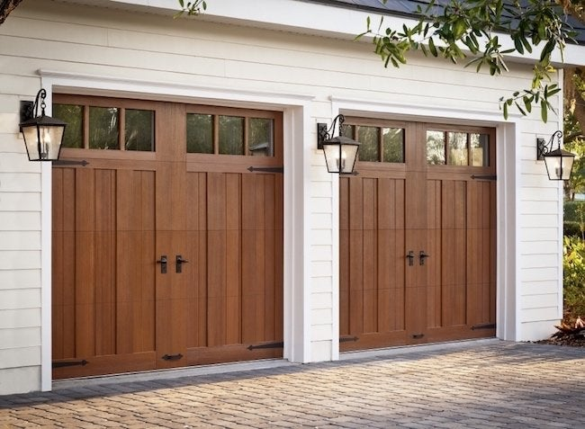 How to Choose a Garage Door - Carriage Style Close-Up