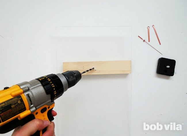 How to Make a Clock - Step 7
