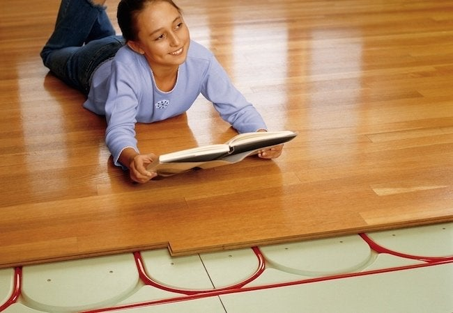 Radiant Heat Provides Even Comfort