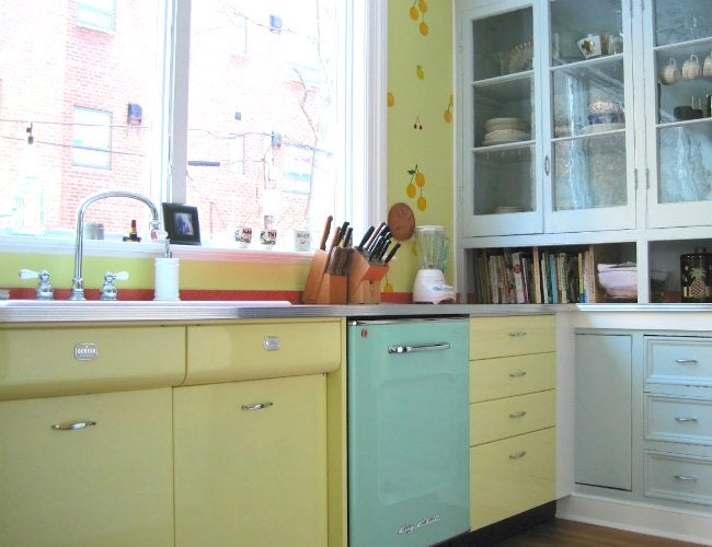 retro kitchen design The Recipe for a Retro Kitchen  Bob Vila Radio