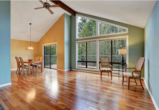 Plywood Floors - Full Room