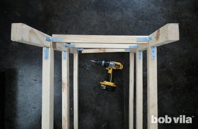 How to Build a Kitchen Island - Step 6