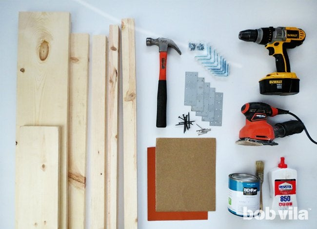 How to Build a Kitchen Island - Supplies
