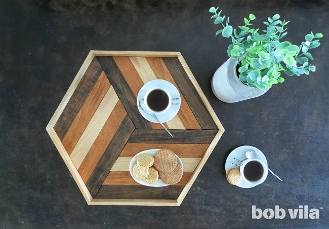 How to Make a DIY Serving Tray