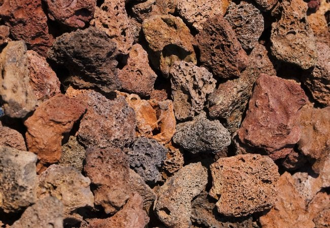 Types of Mulch - Lava Rock