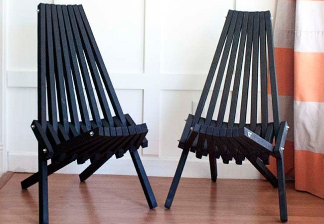 DIY Chair - 7 Easy Designs - Bob Vila