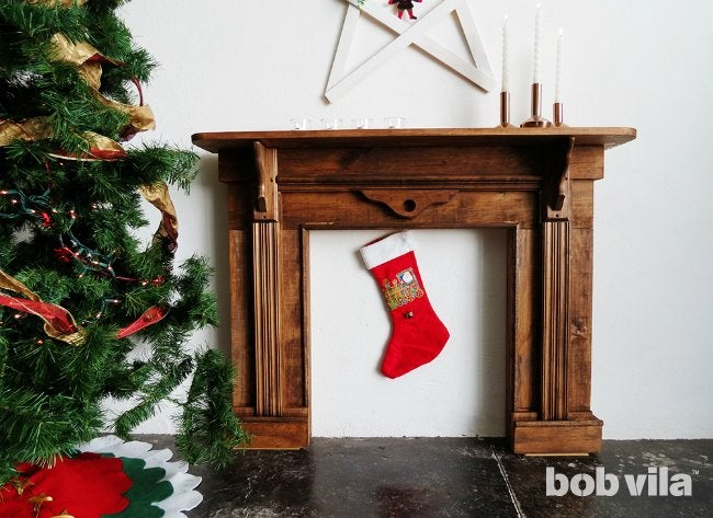 How to build a faux fireplace bob vila how to build a faux fireplace solutioingenieria Gallery