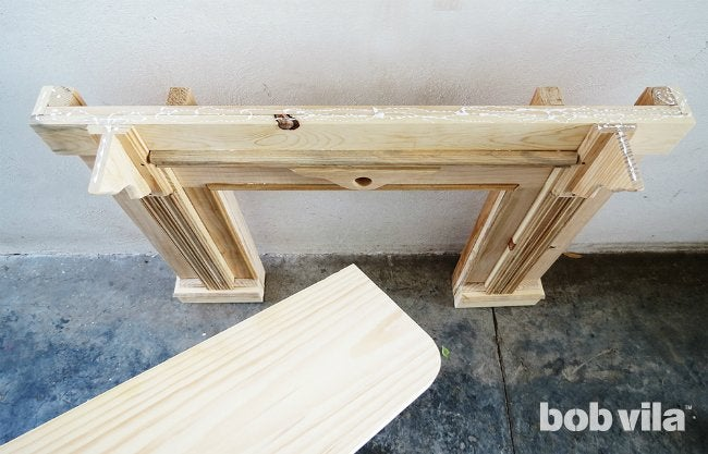 How to Build a Faux Fireplace - Step 5