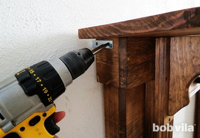 How to Build a Faux Fireplace - Step 9