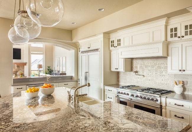 Quartz Countertops In The Kitchen