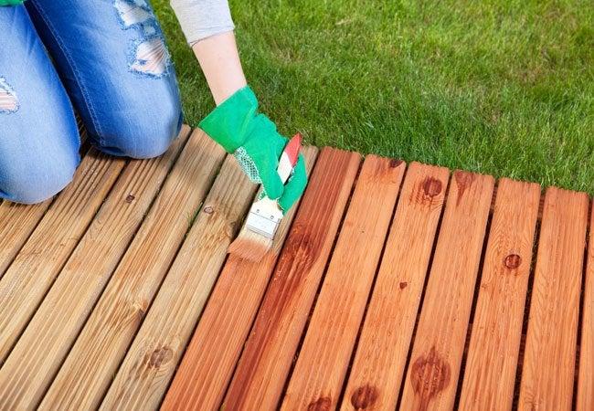 如何使木材防水