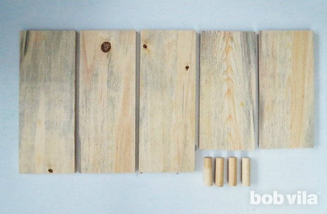 DIY Bathroom Storage - Step 1
