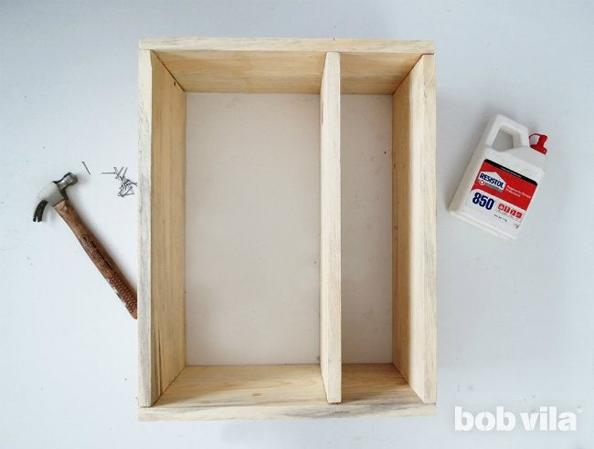DIY Bathroom Storage - Step 3