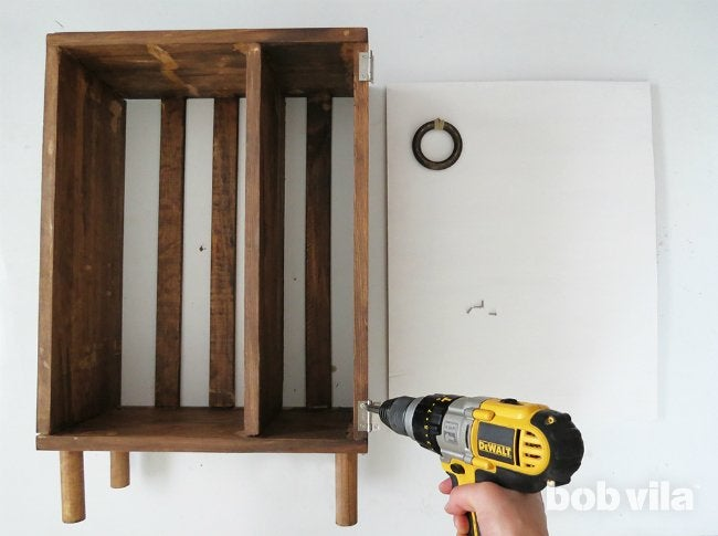 DIY Bathroom Storage - Step 11