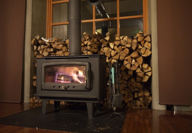 Wood Stove Heating