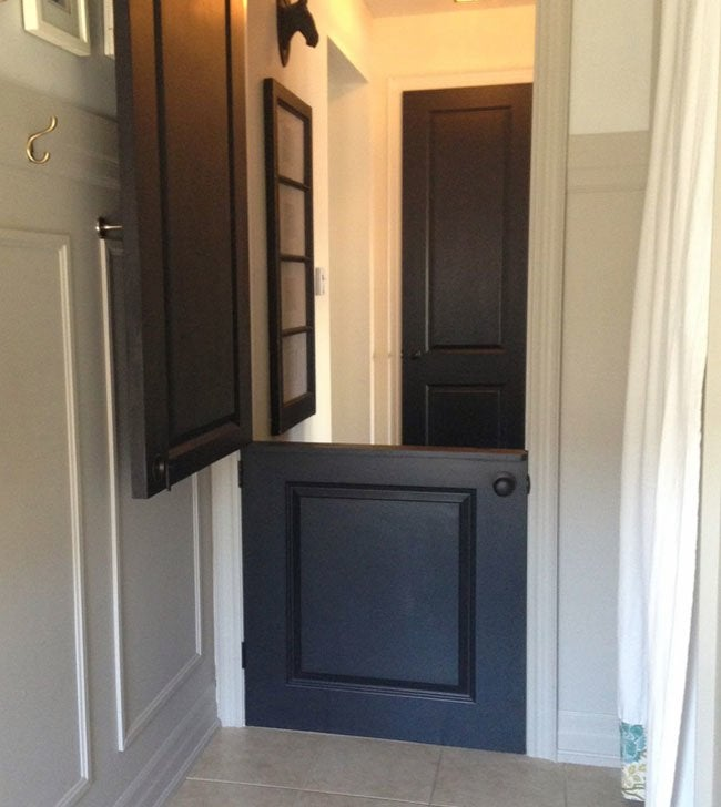 Genius! DIY Dutch Door
